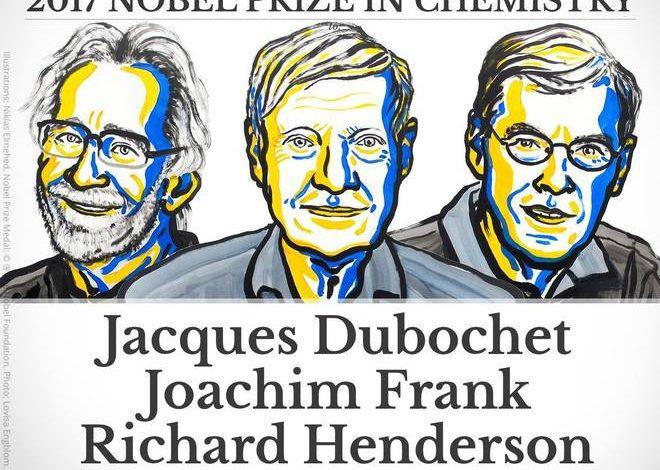 Нобелівська премія з хімії 2017:   криогенна мікроскопія